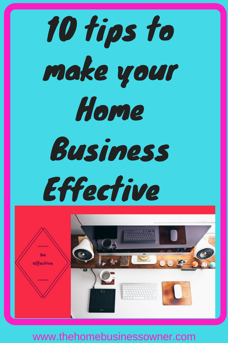 How to be an effective Home business owner