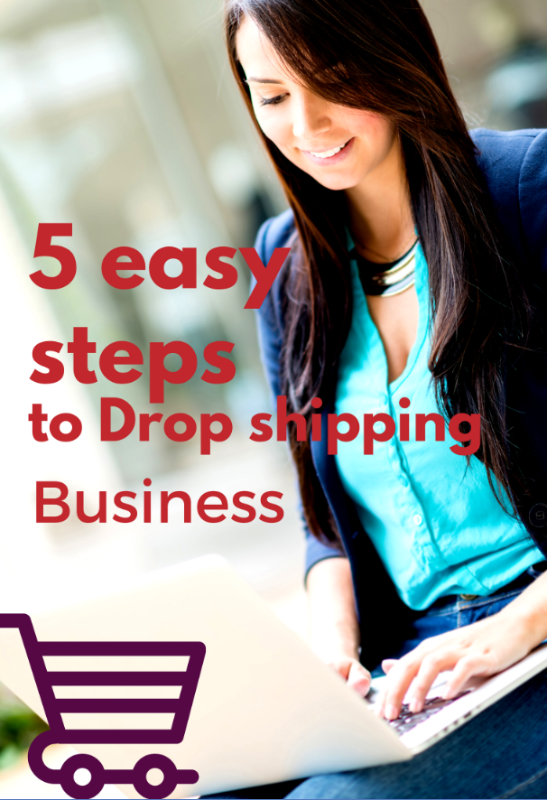 5 easy steps to Drop shipping Business
