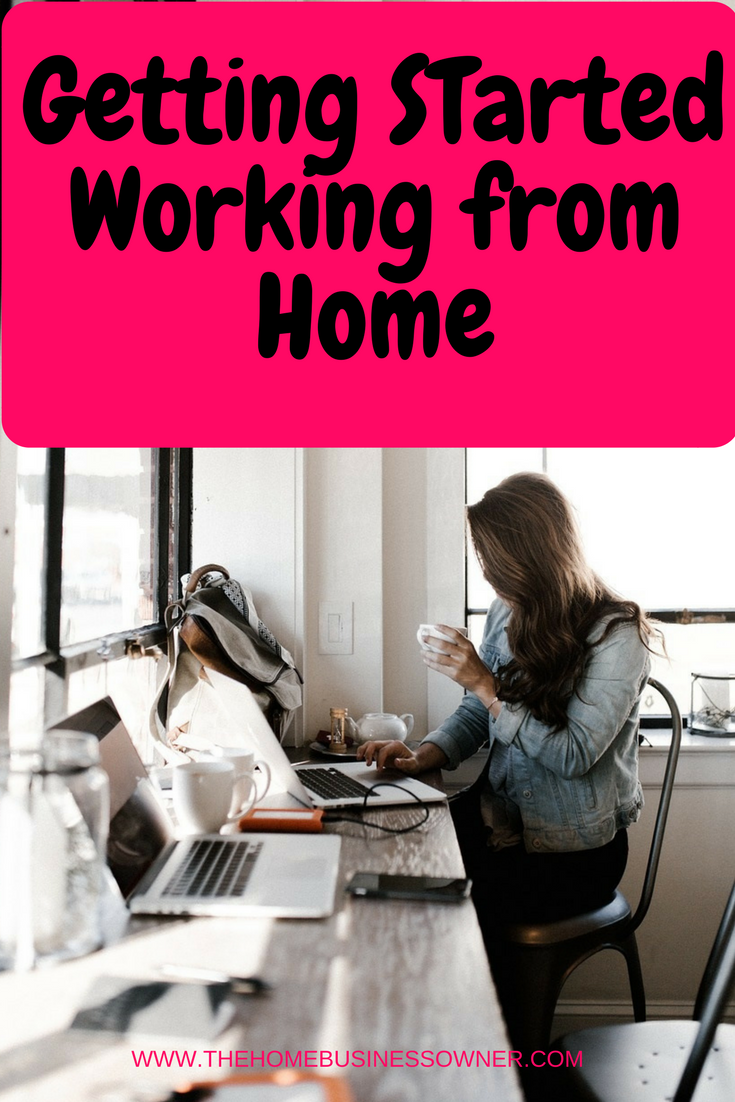The work at home Mom
