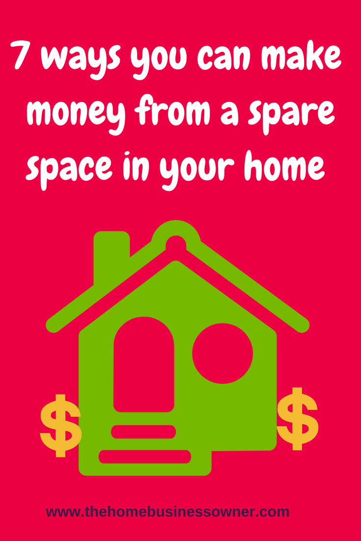Make money from your property