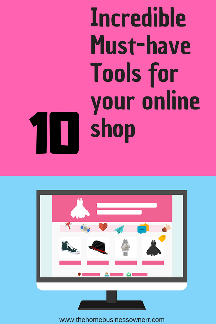 Must-have tools for an onlineshop